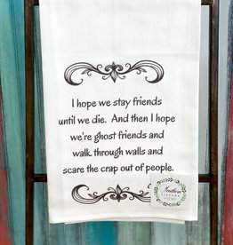 southern sisters Ghost Friends Towel