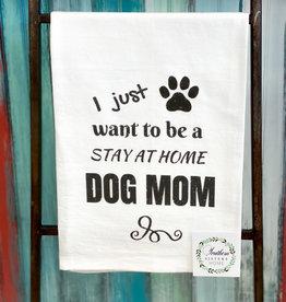 southern sisters Dog Mom Towel