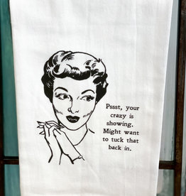 southern sisters Crazy Is Showing Towel
