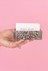 Confetti Business Card Holder