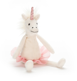 JellyCat Dancing Darcy Unicorn Small