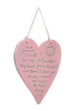 Dear Precious Girl Plaque
