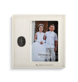 demdaco First Communion Medallion Frame