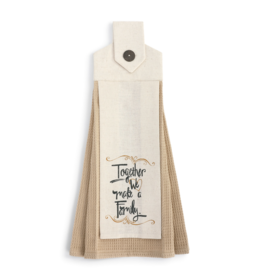 demdaco Family Button Loop Towel