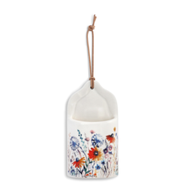 demdaco Meadow Flowers Mini Utensil Crock