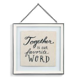 demdaco Together Framed Art