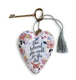 Art Heart -  She Believed