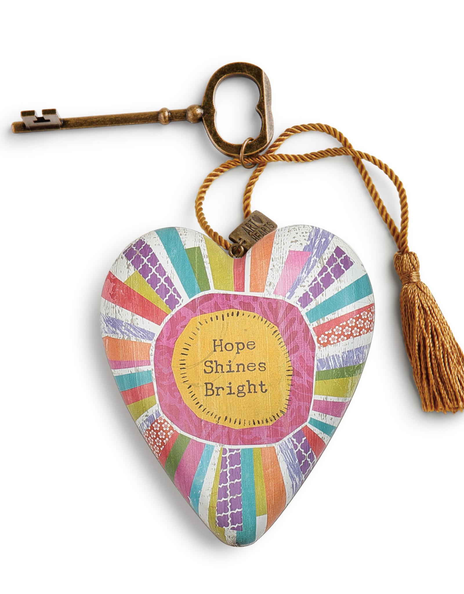 Art Heart -  Hope Shines