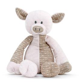 demdaco Barnyard Pig Rattle