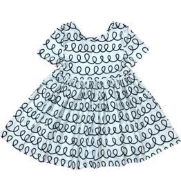 Mila & Rose Scribble Scrabble Twirl Dress