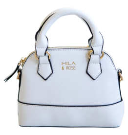 Mila & Rose Marshmallow White Girl's Purse