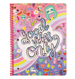 Fashion Angels Good Vibes Spiral Notebook