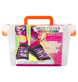 Fashion Angels Neon Tie Dye Accessory Design Crate