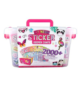 My Neon Sticker Keeper Crate