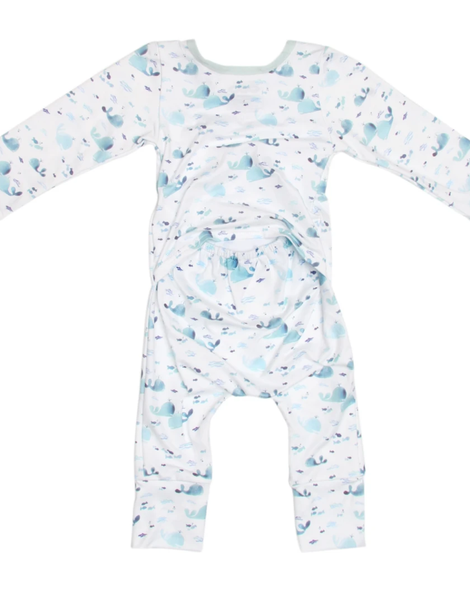 Blue Whales Romper