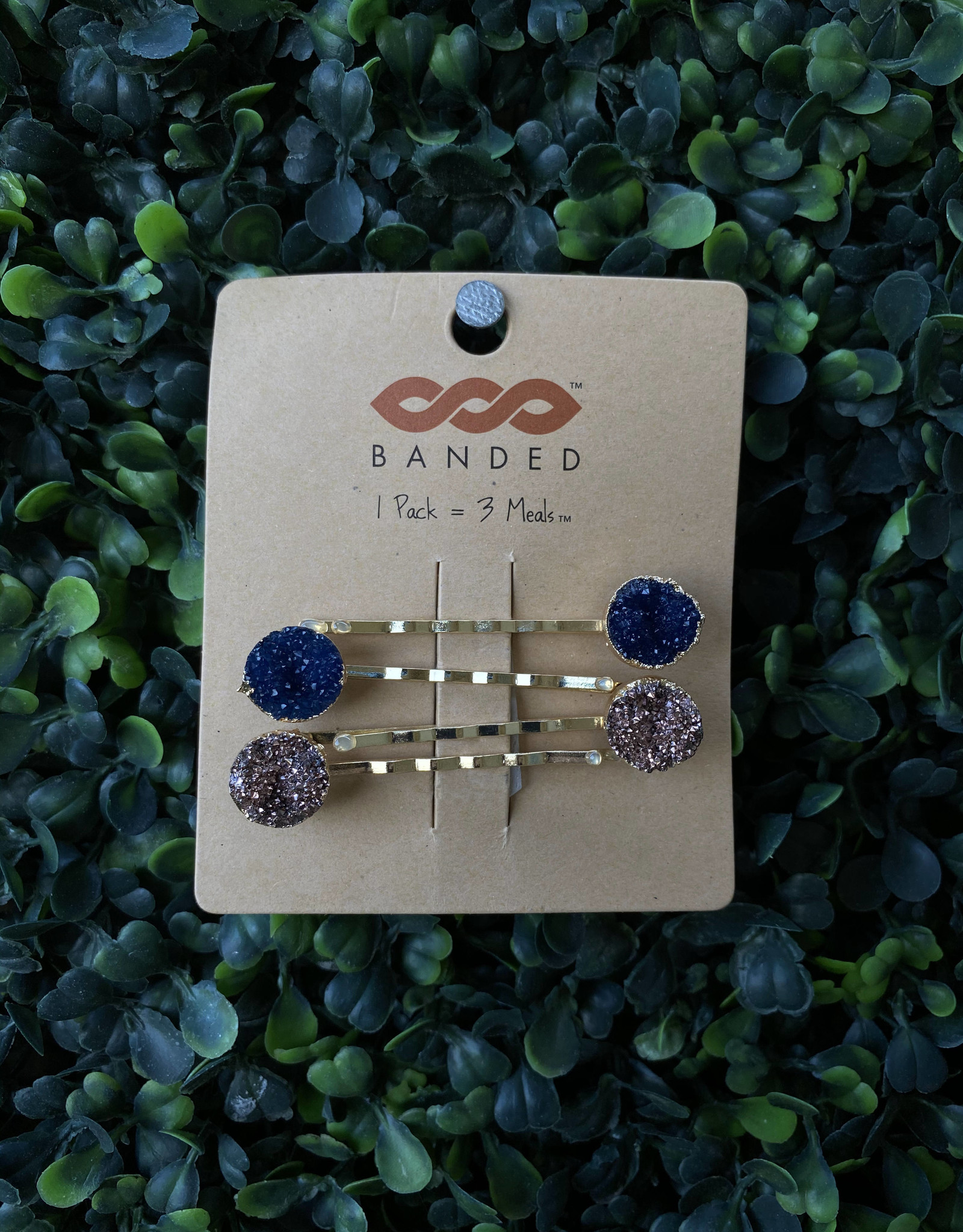 Geode Bobby Pins