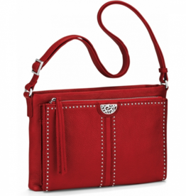 Brighton Jagger Cross Body Organizer - Lipstick