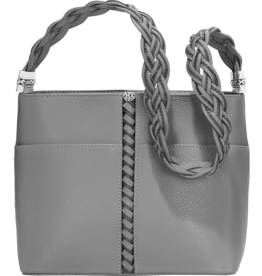 Brighton Beaumont Square Bucket Bag - Dove