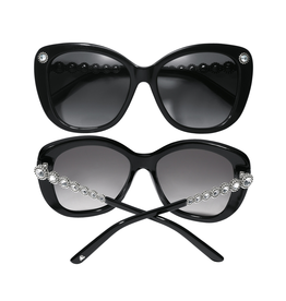 Brighton Twinkle Link Sunglasses - Black