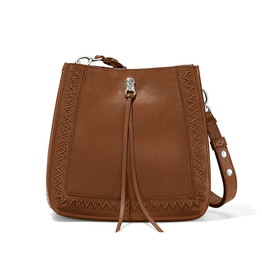 Brighton Georgia Convertible Hobo - Bourbon