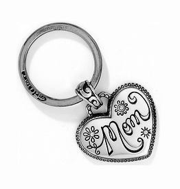 Brighton Mom Key Fob - Silver
