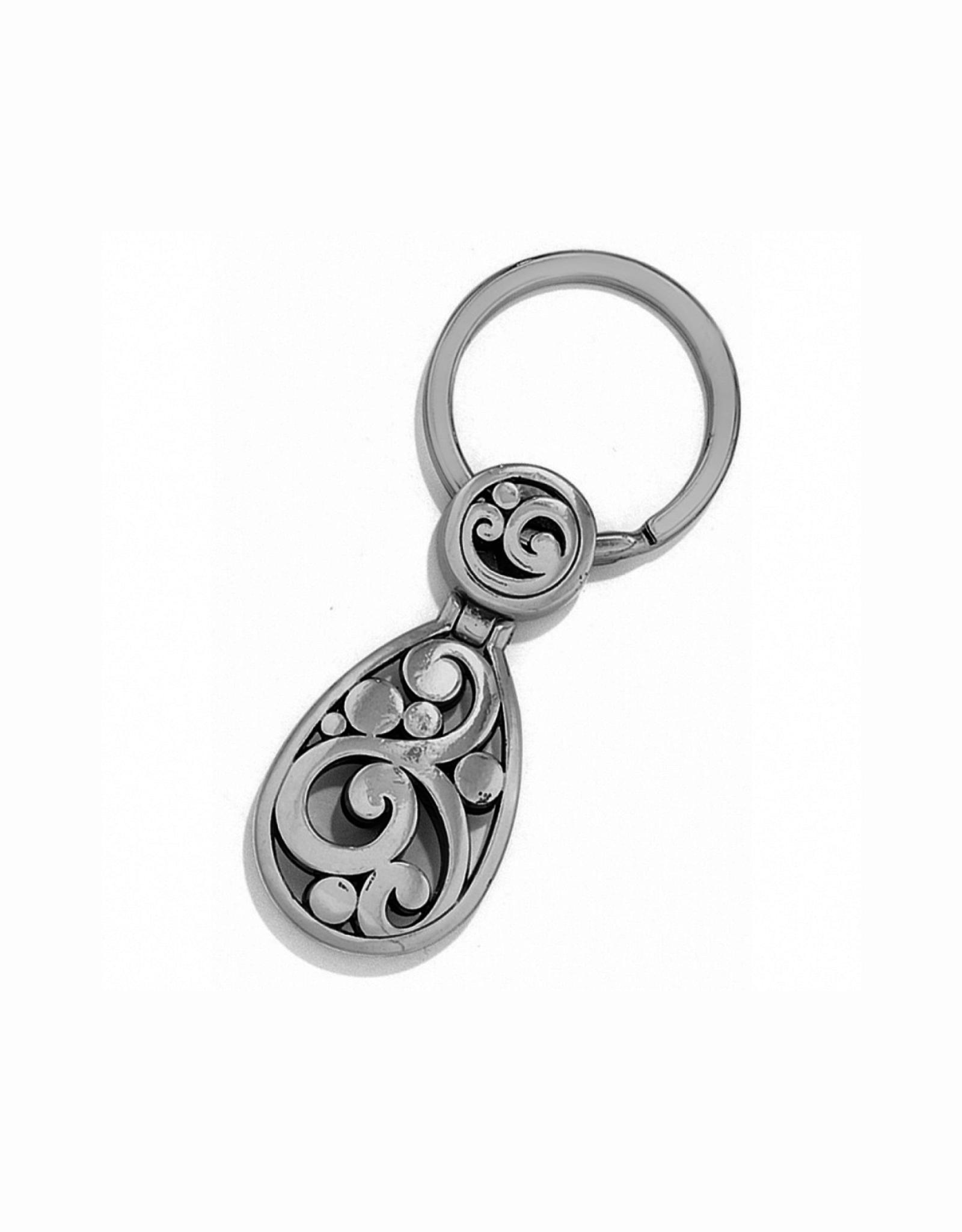 Brighton Contempo Key Fob - Silver