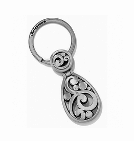 Brighton Contempo Key Fob - Silver