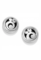 Brighton Contempo Post Earrings - Silver