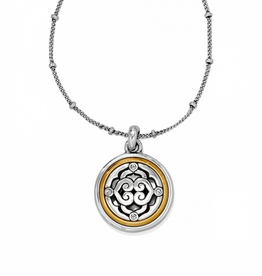 Brighton Intrigue Small Necklace - Silver&Gold