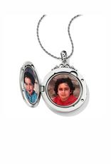 Brighton Etoile Locket Necklace - Silver