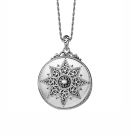 Brighton Etoile Locket Necklace - Silver