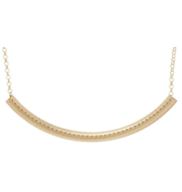 "enewton design Bliss Bar Textured 16"" Necklace Gold"