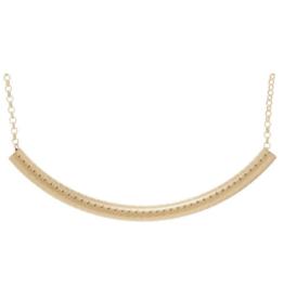 "enewton design Bliss Bar Textured 16"" Necklace Gold"