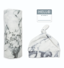 Newborn Swaddle Set Marble
