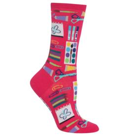 Hot Sox Co. Art Supplies Women's Socks