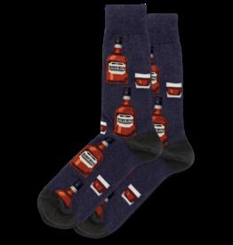 Men  Bourbon Sock