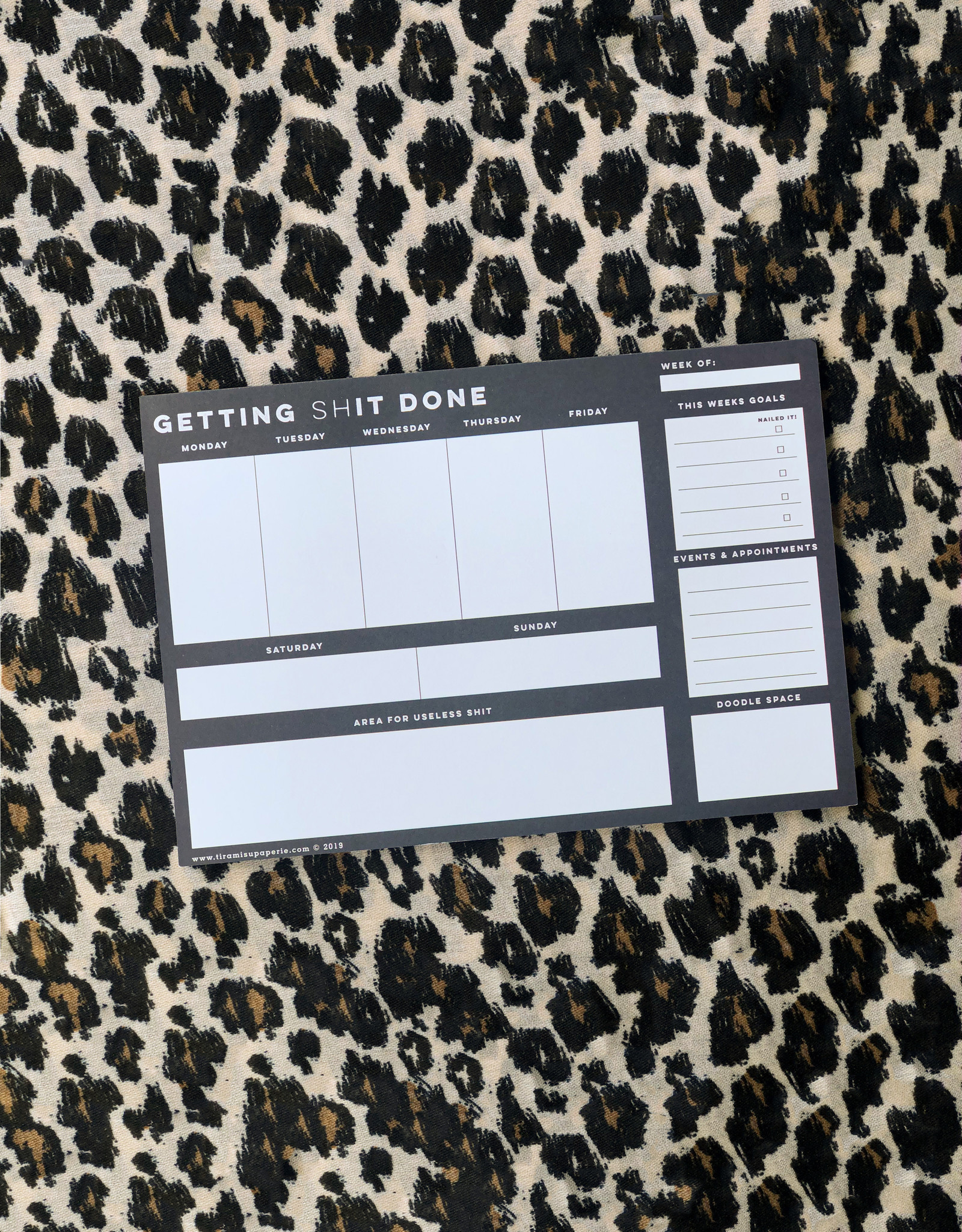 Getting Shit Done Planner Pad