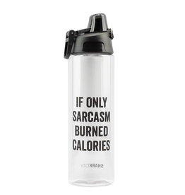 snark city Water Bottle Sarcasm Burned