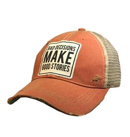 Vintage Life Bad Decisions Trucker Hat