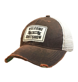 Vintage Life Welcome to the Shitshow Local Trucker Hat