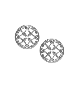 Natalie Wood Designs Grace Stud Earrings - Silver