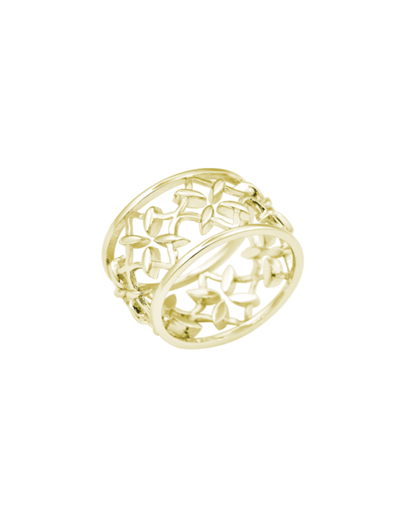 Natalie Wood Designs Believer Ring - Gold