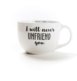 sweet bird and co Never Unfriend You 24oz Mug
