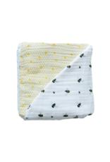Busy Bee Organic Muslin Reversible Blankets