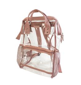Hinge Top Backpack - Ash Rose