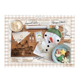 Island Genius Snowman Make & Bake Cookie Set