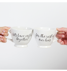 8 Oak Lane Rest of Lives Coffee Mugs (Set of 2)