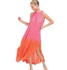 Mudpie Pink Karen Maxi Dress