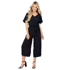 Mudpie Black Julie Jumpsuit