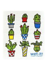 Cactus Pots Wet It